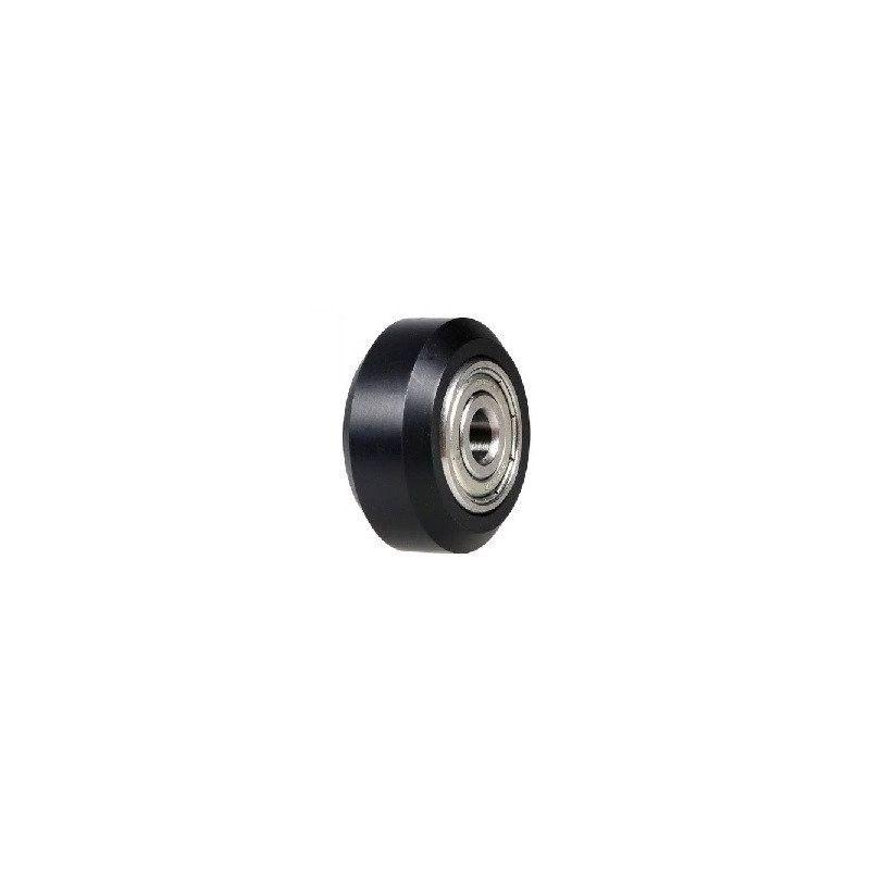 Mini rueda de ranura V con rodamientos para perfil aluminio V2020