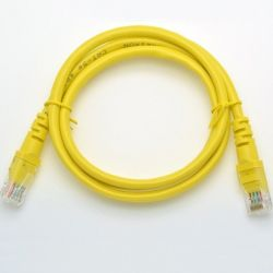 Patchcord UTP5e 1m Yellow...