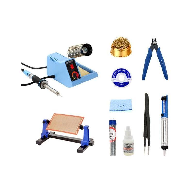 Estación de Soldadura 48W + kit de accesorios
