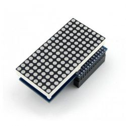 LED Matrix 16x8 red MAX7219...
