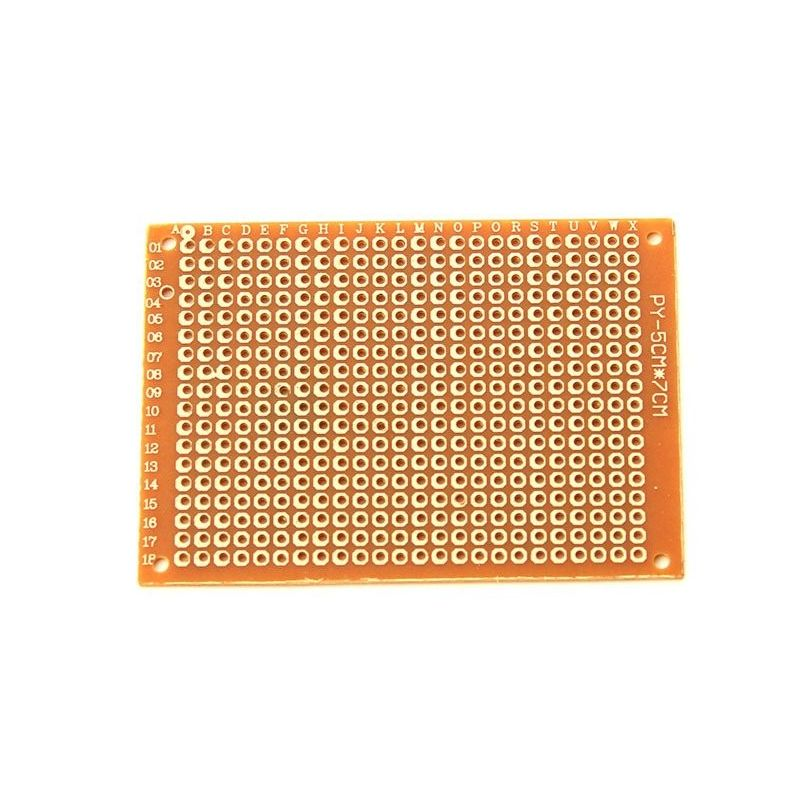 2x Protoboard Breadboard 5x7cm