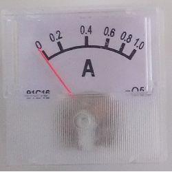 DC 0-1A Analog Ammeter...