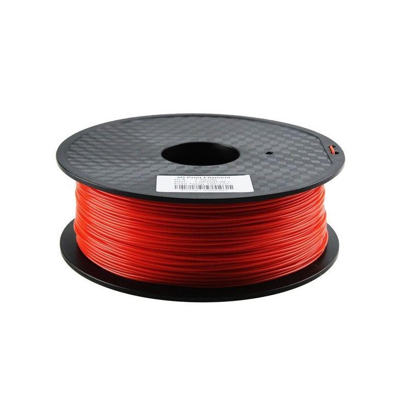 Filamento PLA 3mm 1kg Impressão Vermelha