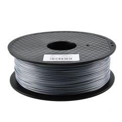 PLA Silver Filament 3mm 1kg...
