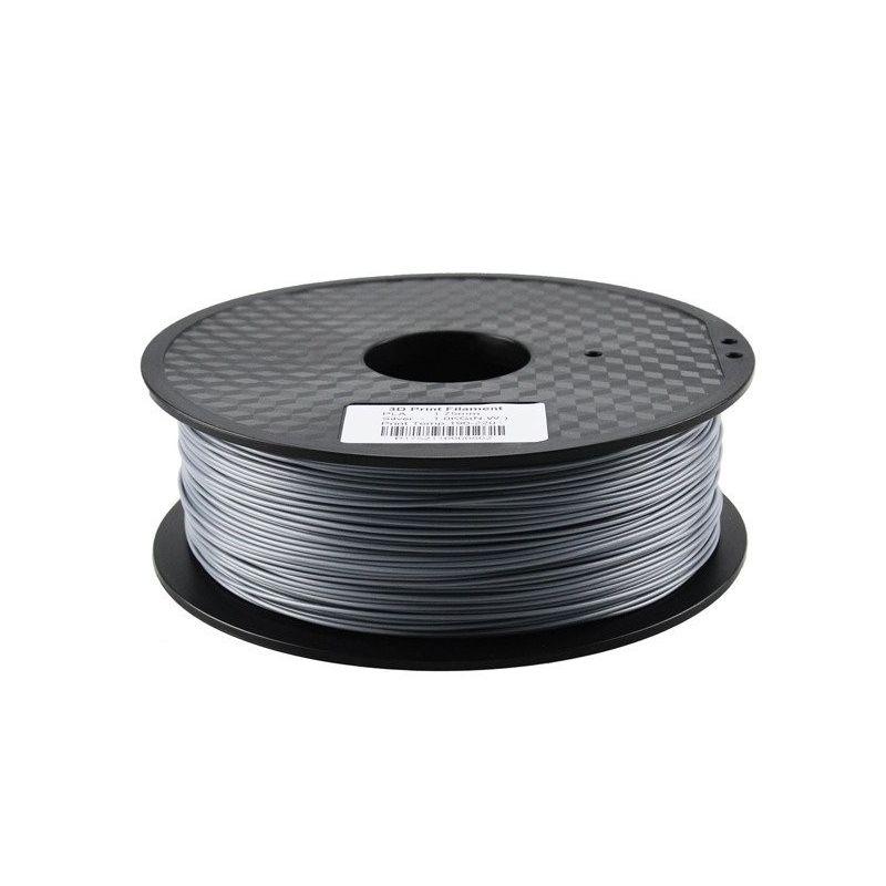 Filamento PLA 3mm 1kg Imprimir Prata