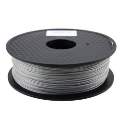 PLA Gray Filament 3mm 1kg...