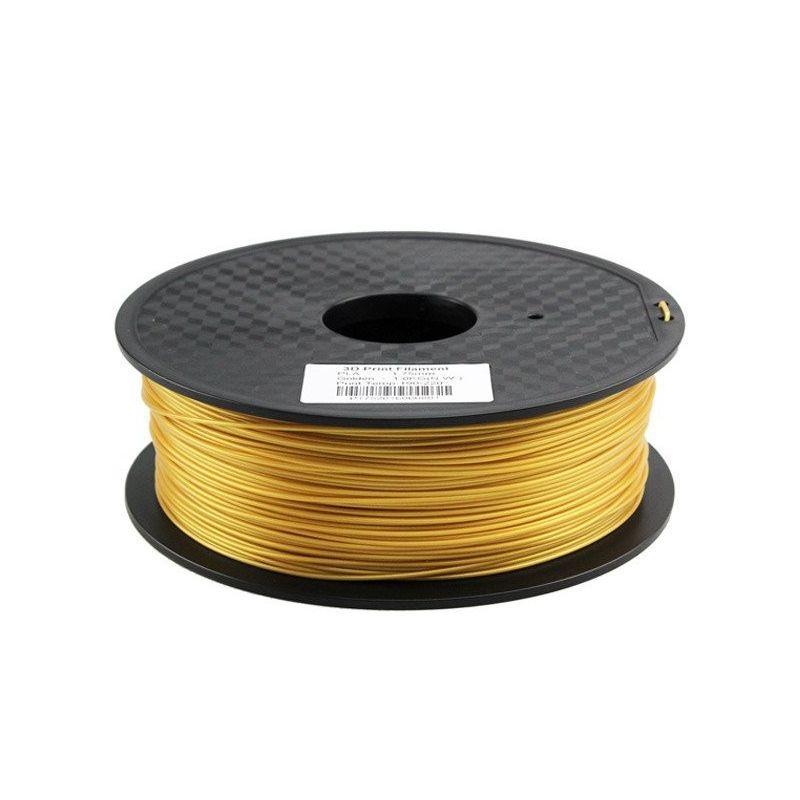 Filamento PLA 3mm 1kg Impressão dourada