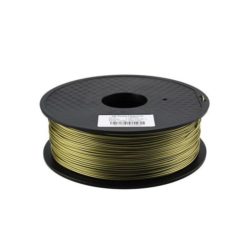PLA Filamento 3mm 1kg Impresion Bronce