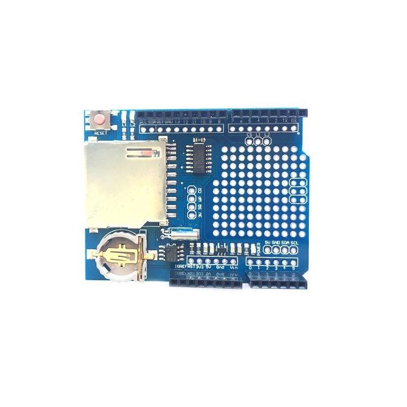 Data Logger Shield Módulo de cartão SD para Arduino