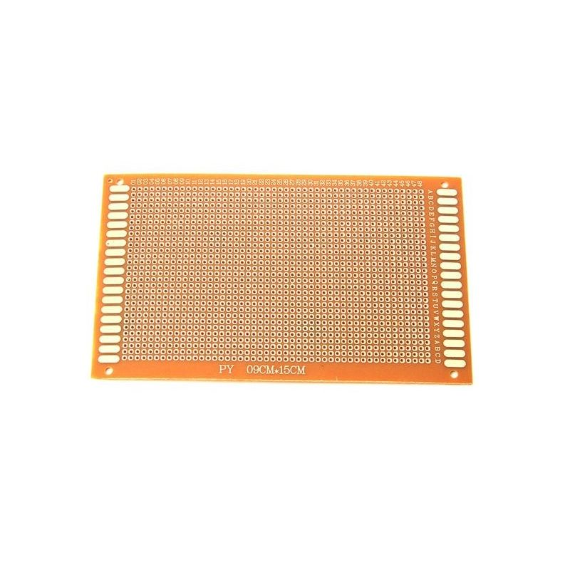 10x Protoboard Breadboard 9x15cm