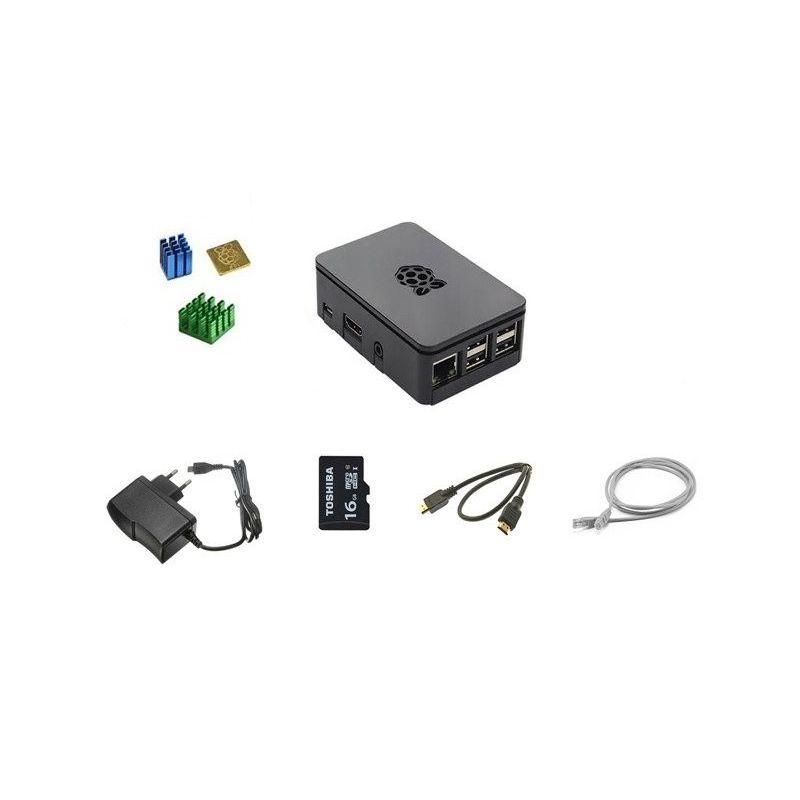 Kit accesorios para Raspberry Pi 3 Modelo B, B+