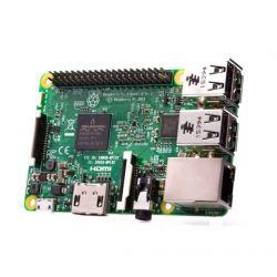Raspberry Pi 3 Modelo B 1.2GHz Procesador de cuatro núcleos de 64 bits LAN /BLE