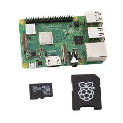 Kit Raspberry Pi 3 cartão...