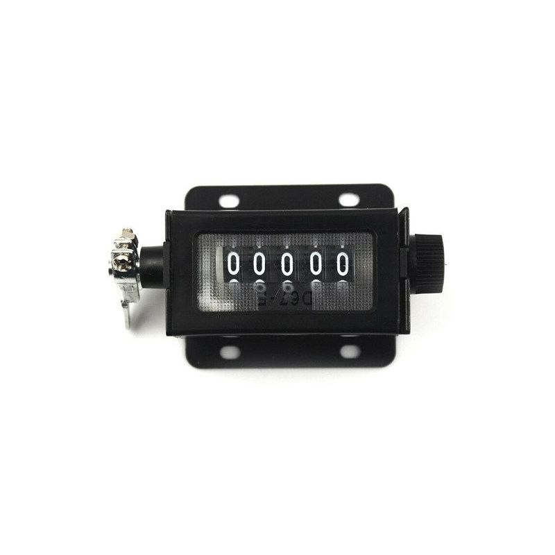 5 Digits Mechanical Pull Stroke Counter