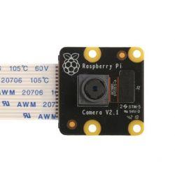 Câmera oficial Raspberry Pi...