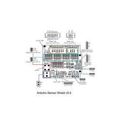 Sensor Shield V5.0 Módulo Bluetooth 5V Servo para Arduino