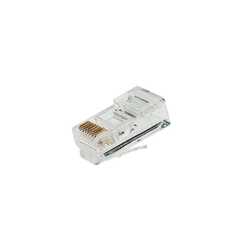 Conectror RJ45 8p8c Cat5e de red Ethernet para crimpar