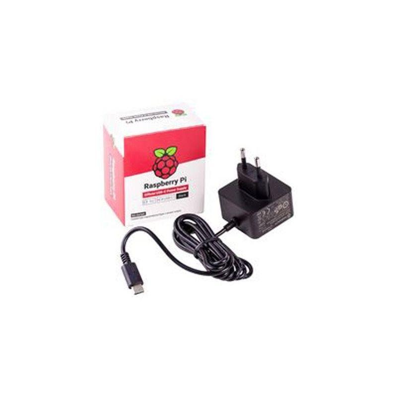Power Adapter 220VAC DC 5.1V, 3A USB-C