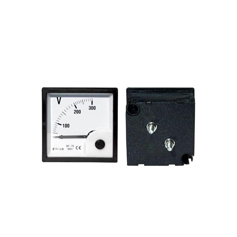 Voltímetro analógico 300VAC