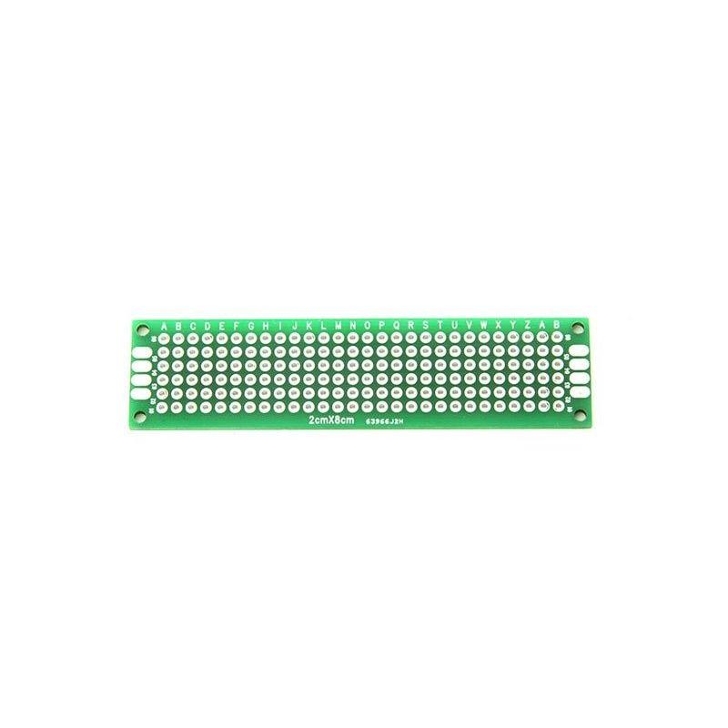 Double Side Prototype Copper PCB Board 2x8cm
