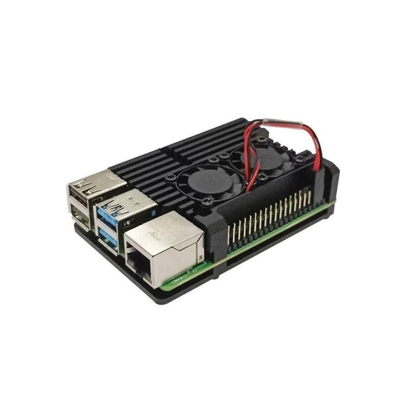 Aluminum case for Raspberry Pi 4 model B