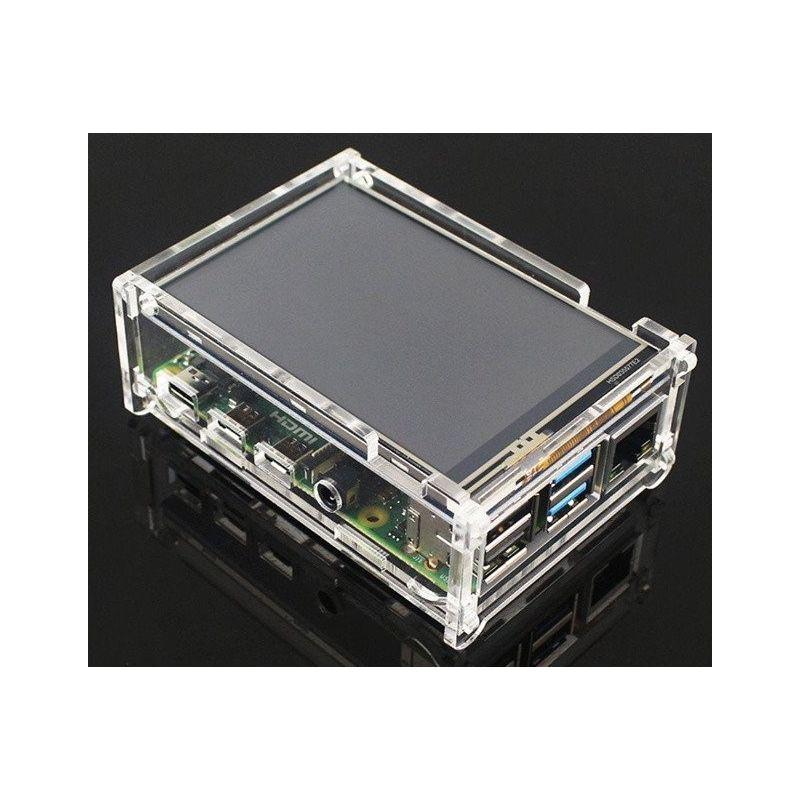 Acrylic box for Raspberry Pi 4 model B