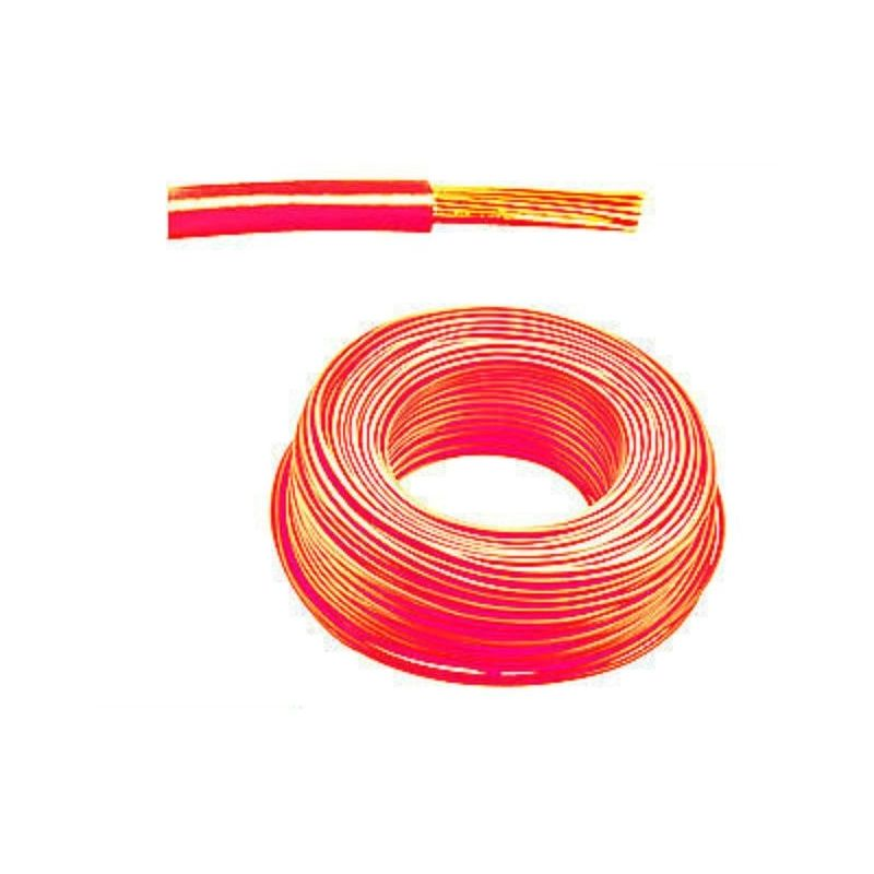 Cable 1x0.35 Flexible Unipolar 0,35mm² rojo 1m