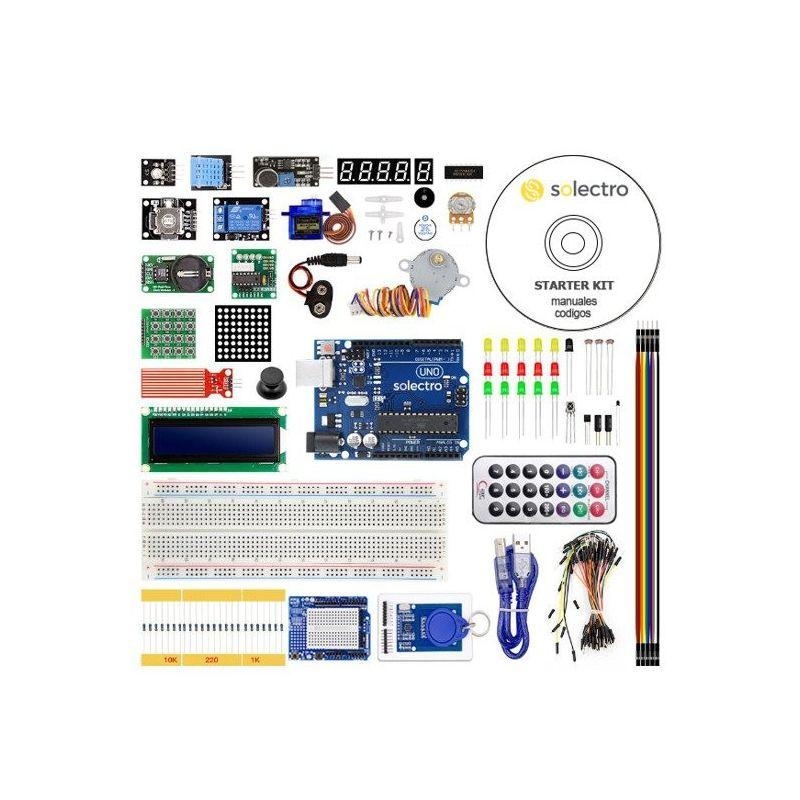 Um kit de Arduino compatível COM XXL