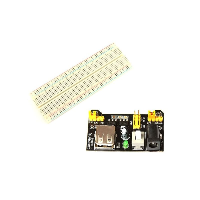 MB102 Prototype Board Kit with Power Supply 5V