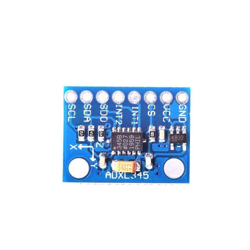 3 Eixo SPI e acelerômetro I2C - ADXL345