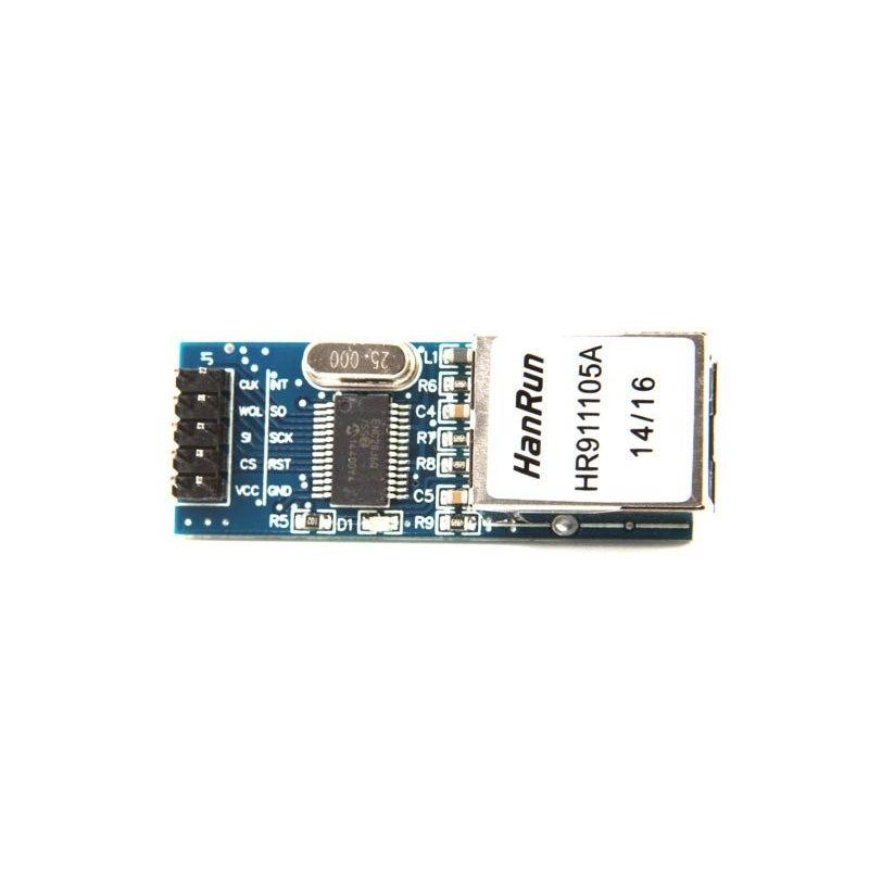 Módulo Ethernet Arduino ENC28J60 AVR LPC STM3