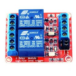 2 Channel Relay Module DC...