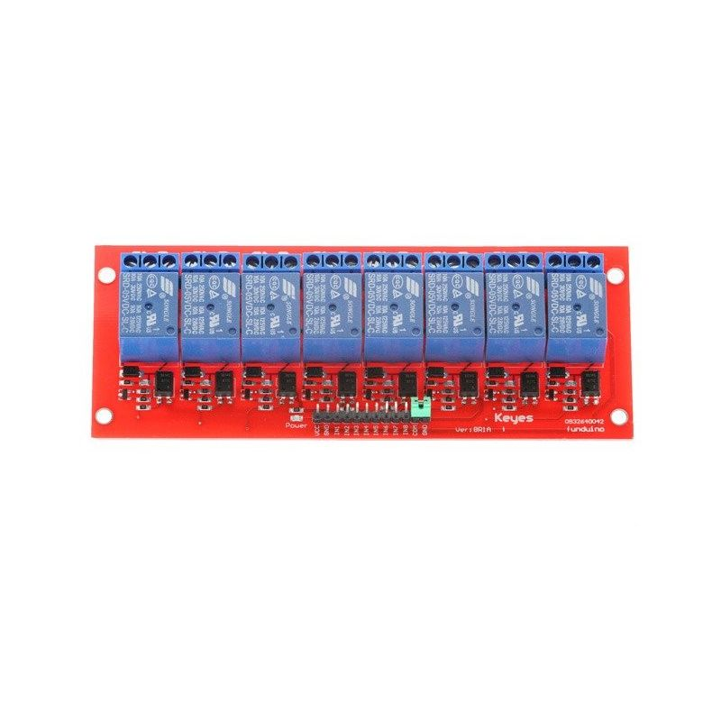 8 Channel High Trip 5V 10A Relay Module