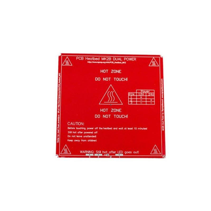 Impressora 3D Hot Bed MK2B PCB 12V 24V Reprap
