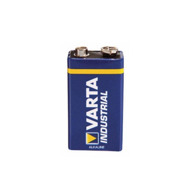 Bateria 9V/E Bloco Varta Industrial 4022 6F22 6LR61 580mAh