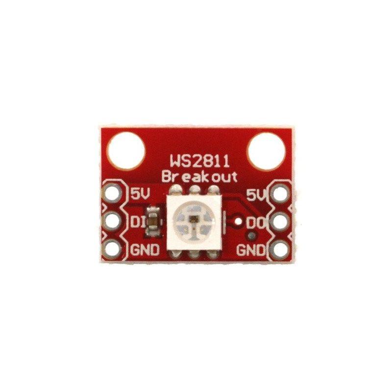 WS2812 RGB LED 5050 5V Endereçado Smart para Arduino WS2811