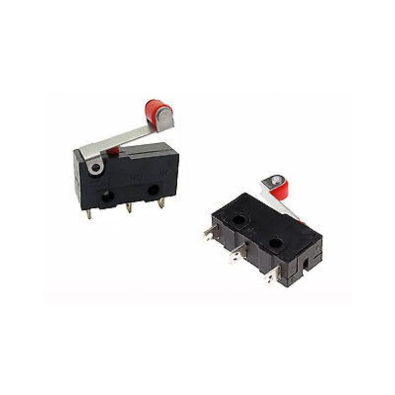 Limit Switch with Wheel - 5A 250 Vac - 1 switched - Arduino compatible