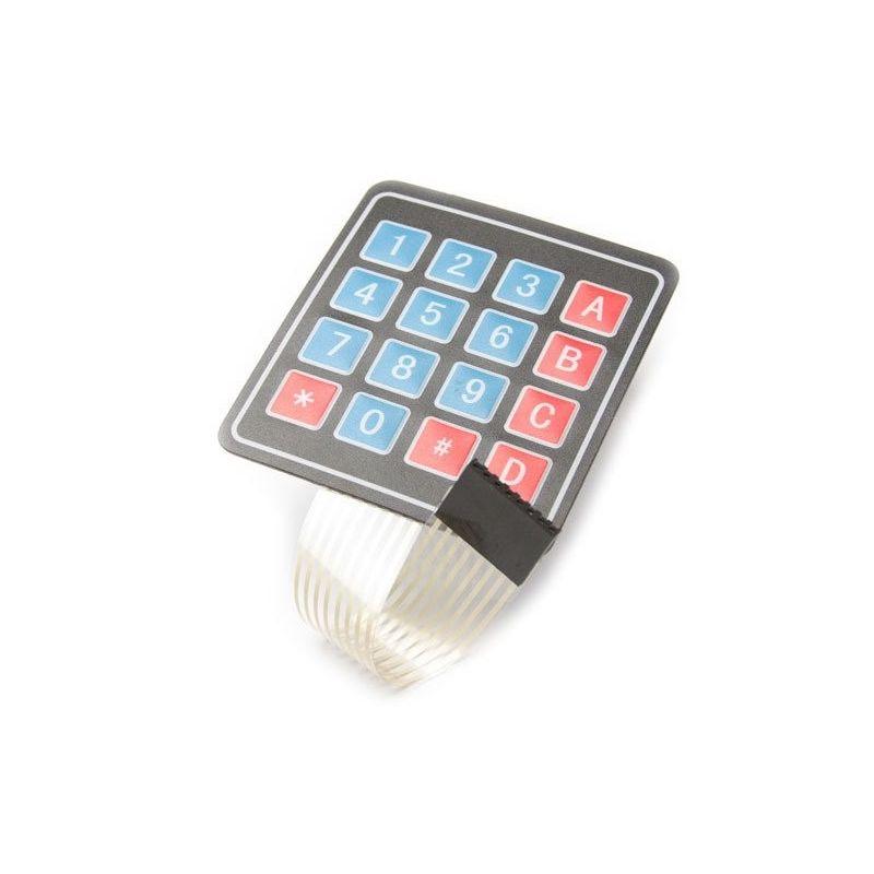 Módulo de teclado de membrana 4x4