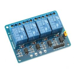 4-Channel 5V 10A Relay Module