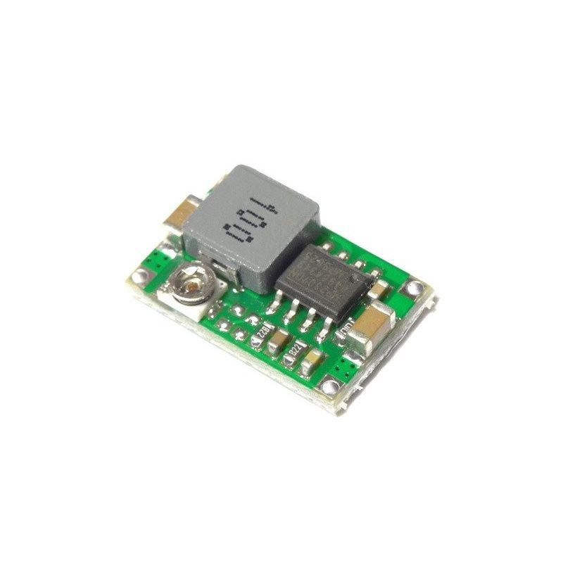Mini DC Para DC Step-down Converter 4.7-23V para 1.0-17V 1.8A Regulador de tensão