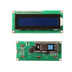 16x2 1602 LCD display Blue IIC/I2C