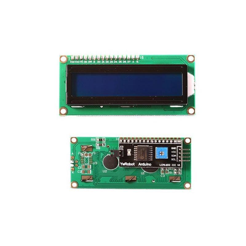 Pantalla LCD 16x2 1602 Azul IIC/I2C