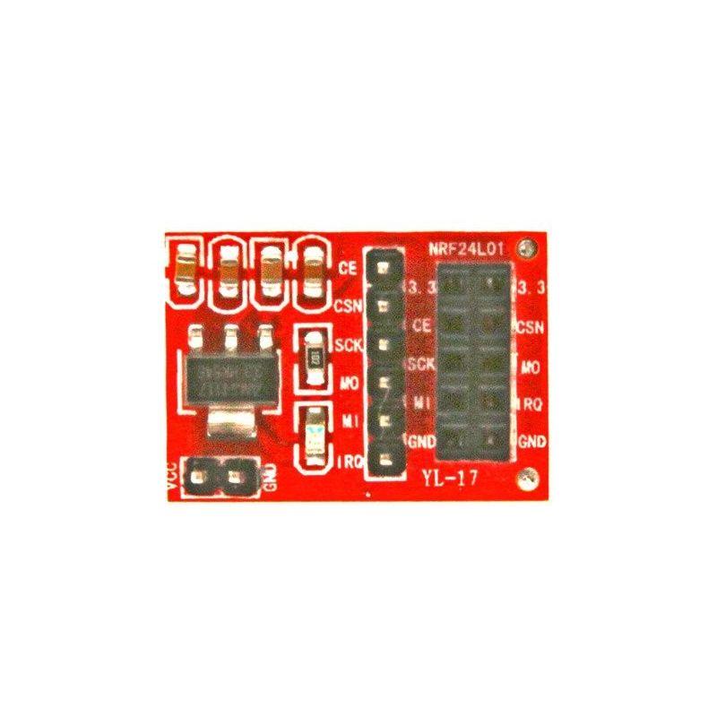 Plugador adaptador transceptor sem fio NRF24L01+ de 2.4GHz para Arduino
