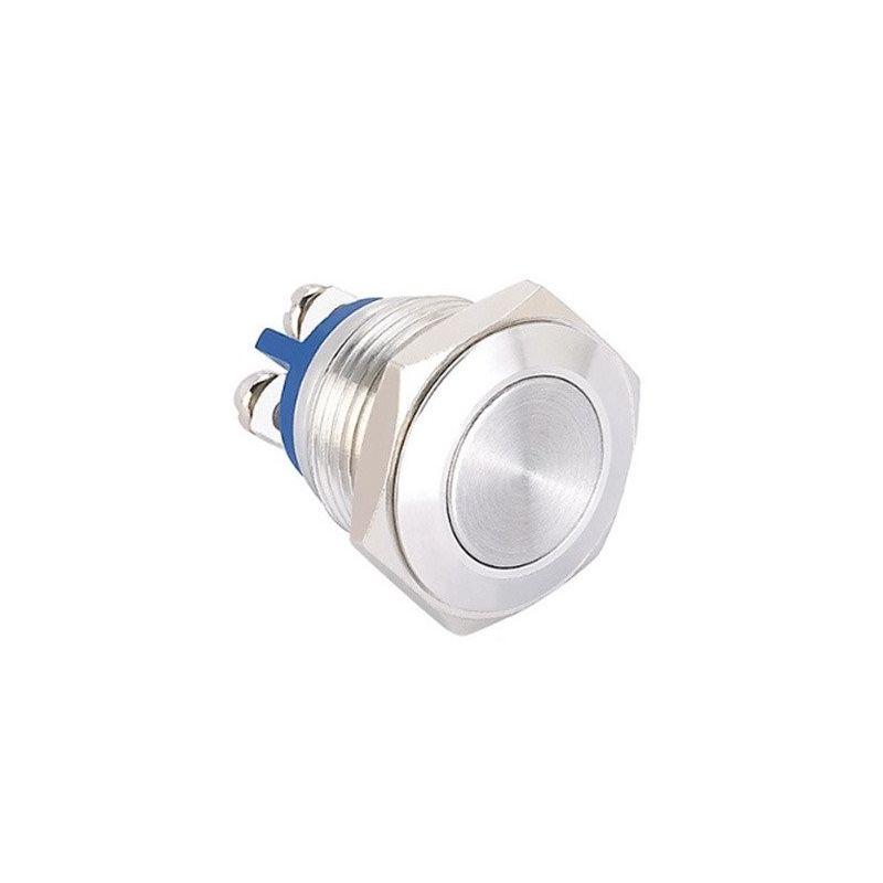 Interruptor de metal 16mm aço inoxidável
