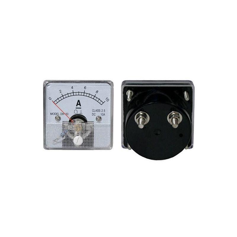 Amperimetro Analógico 10Acc