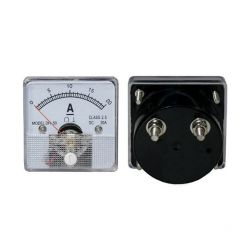 DC 20A Analog Panel Ammeter...