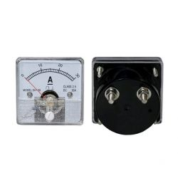 DC 30A Analog Panel Ammeter...