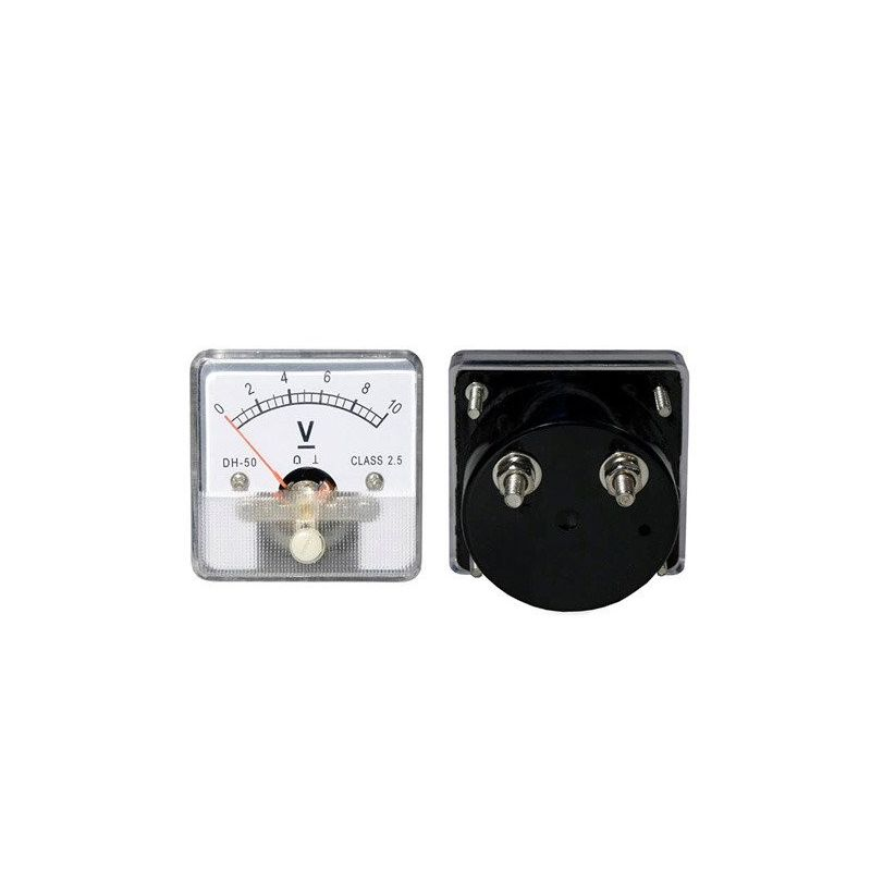 DC 20V Analog Panel Voltmeter 0 to 20V