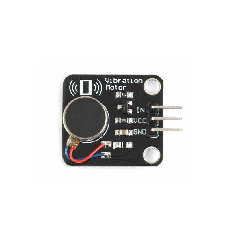 Módulo de Motor de vibración PWM para Arduino y Raspberry Pi 5 VDC