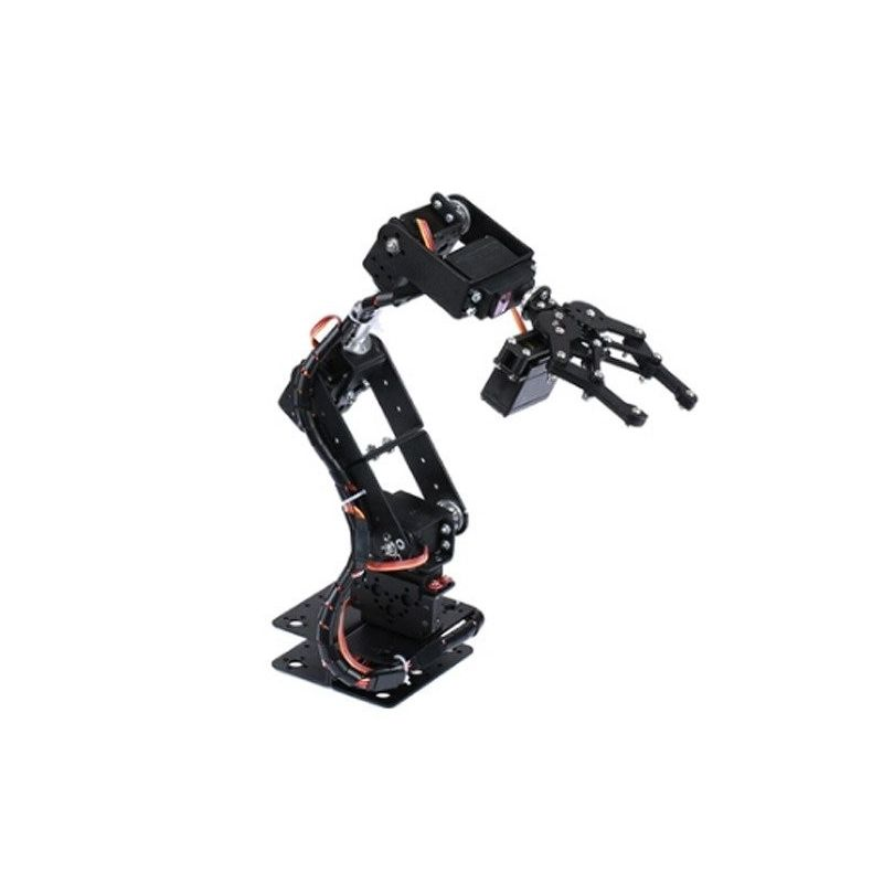 Aluminum Robotic Arm with 6 DOF axes